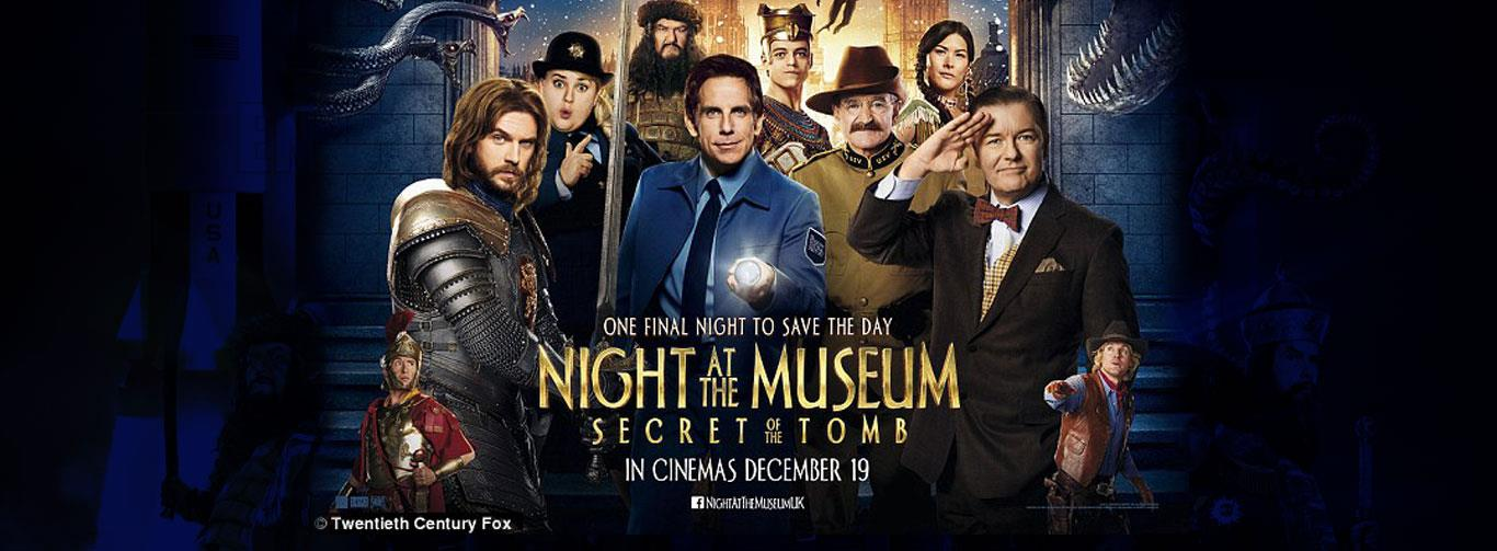Night At THe Museum: Secret Of The Tomb(English) (U)
